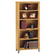 Red Barrel Studio Chase 5 Shelf 65'' Standard Bookcase; Maple Cross