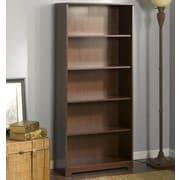 Red Barrel Studio Hillsdale 66.46'' Standard Bookcase; Harvest Cherry