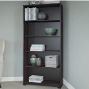 Red Barrel Studio Hillsdale 66.46'' Standard Bookcase; Espresso Oak