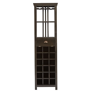 Red Barrel Studio Rosado Tall 18 Bottle Wine Cabinet