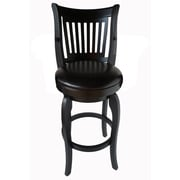 Red Barrel Studio Fairhope 24'' Swivel Bar Stool