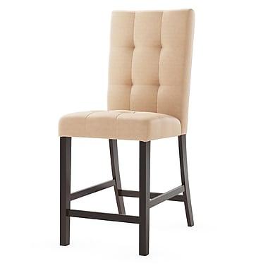 Red Barrel Studio Burgess Parsons Chair (Set of 2); Desert Sand