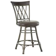 Red Barrel Studio Ellis Island 30'' Swivel Bar Stool