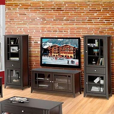 Red Barrel Studio Radius 58'' TV Stand in Espresso
