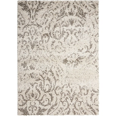 Red Barrel Studio Puyallup River Cream Area Rug; 5' x 7'