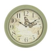 Red Barrel Studio Antique Butterfly 18'' Wall Clock