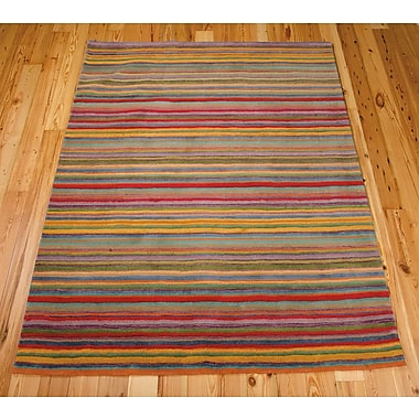 Red Barrel Studio Roseland Hand-Tufted Wool Area Rug; 2'6'' x 4'
