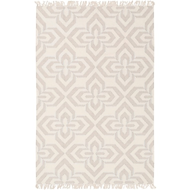 Red Barrel Studio Roselawn Taupe Area Rug; 8' x 10'