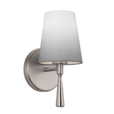 Red Barrel Studio Daley 1-Light Wall Sconce; Bali Brass