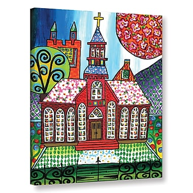 Red Barrel Studio Poor Claires Painting Print on Wrapped Canvas; 18'' H x 14'' W x 2'' D