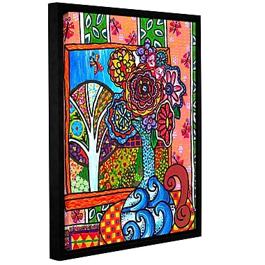 Red Barrel Studio Ventana Framed Painting Print on Wrapped Canvas; 48'' H x 36'' W