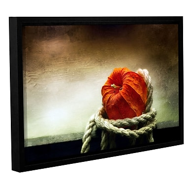 Red Barrel Studio 'Tied' Framed Photographic Print on Wrapped Canvas; 32'' H x 48'' W