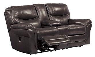 Red Barrel Studio Baytown Double Reclining Sofa w/ Console; Manual WYF078280284742