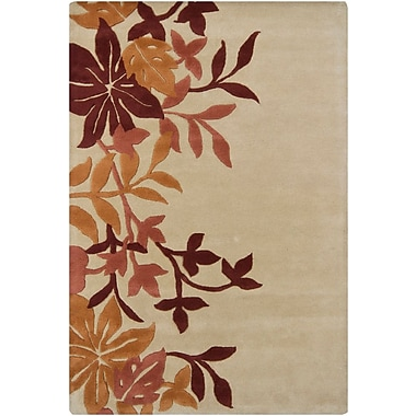 Red Barrel Studio Medford Floral Area Rug; 5' x 7'6''