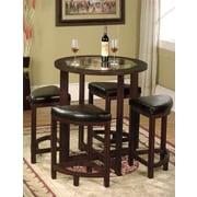 Red Barrel Studio Plumwood 5 Piece Counter Height Dining Set