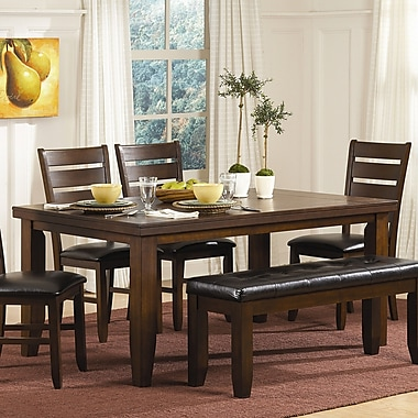 Red Barrel Studio Bannister Dining Table; 30'' H x 42'' W x 66'' D