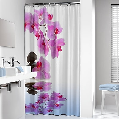 Sealskin Orchid Shower Curtain