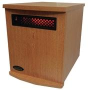 SUNHEAT 1,500 Watt Electric Infrared Cabinet Heater; Oak