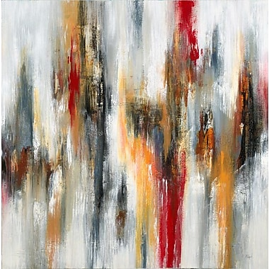 Third and Wall Art Group 'Ripple V' by Lisa Ridgers Paining Print on Wrapped Canvas; 30'' H x 30'' W