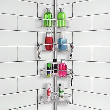 UtopiaAlley Tension Rustproof Shower Caddy