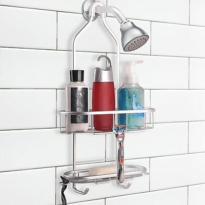 UtopiaAlley 2 Shelf Rustproof Shower Caddy