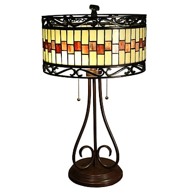 Warehouse of Tiffany Milagros 24'' Table Lamp