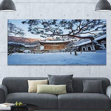 DesignArt 'Naesosa Temple in South Korea' Photographic Print on Wrapped Canvas