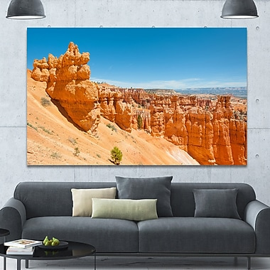 DesignArt 'Beautiful Bryce Canyon' Photographic Print on Wrapped Canvas; 40'' H x 60'' W x 1.5'' D