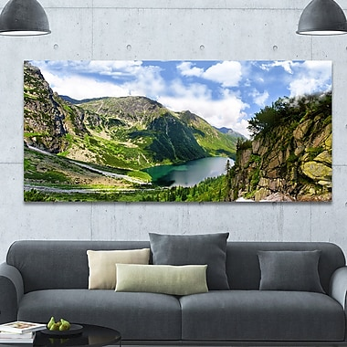DesignArt 'Incredible View of Tatra Mountains' Photographic Print on Wrapped Canvas
