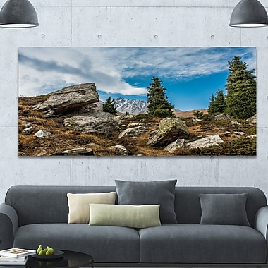 DesignArt 'Tien Shan Mountains in Almaty' Photographic Print on Wrapped Canvas