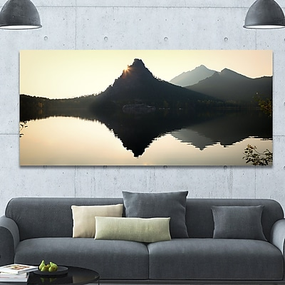 DesignArt 'National Park Burabay at Sunset' Photographic Print on Wrapped Canvas