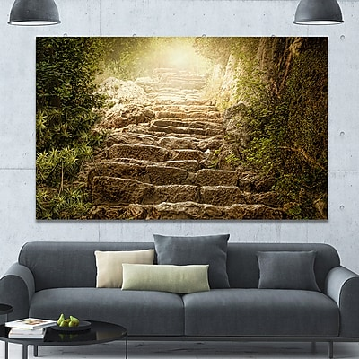 DesignArt 'Holy Light and Upstairs' Photographic Print on Wrapped Canvas; 40'' H x 60'' W x 1.5'' D