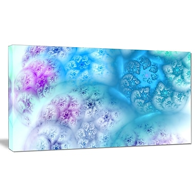 DesignArt 'Clear Blue Magic Stormy Sky' Graphic Art on Wrapped Canvas; 12'' H x 20'' W x 1'' D