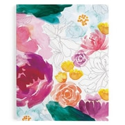 "Erin Condren, Monthly Planner, 7"" x 9"", Floral Ink (BYO MP 40)"
