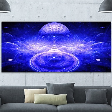 DesignArt 'Mystic 3D Surreal Illustration' Graphic Art on Wrapped Canvas; 28'' H x 60'' W x 1.5'' D