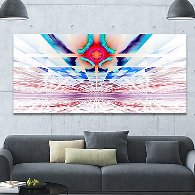 DesignArt 'Cosmic Horizons Apocalypse' Graphic Art on Wrapped Canvas; 28'' H x 60'' W x 1.5'' D