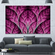 DesignArt 'Exotic Pink Biological Organism' Graphic Art on Wrapped Canvas; 40'' H x 60'' W x 1.5'' D