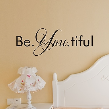 Belvedere Designs LLC Quotes Be. You. tiful Wall Decal