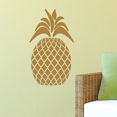 Belvedere Designs LLC Quotes Pineapple #1 Art Wall Decal