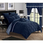 Chic Home Jacksonville 20 Piece Reversible Bed in a Bag Set; Queen
