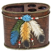 De Leon Collections 3 Feathers 1 Case Toothbrush Holder