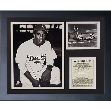 Legends Never Die Jackie Robinson Framed Memorabilia