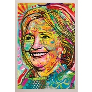 Frame USA 'Hillary' by Dean Russo Framed Graphic Art Print, Poster