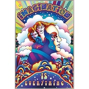 Frame USA 'Imagination is Everything' Framed Graphic Art Print, Poster