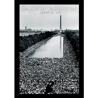 Frame USA 'March on Washington' Framed Photographic Print