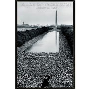 Frame USA 'March on Washington Poster' Framed Photographic Print