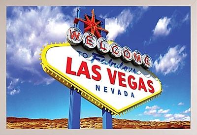 Frame USA 'Welcome to Las Vegas Poster' Framed Vintage Advertisement