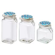 Global Amici Reflections Tidal 2 Piece Kitchen Canister Set