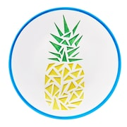 Global Amici Paradise Ceramic Platters in Pineapple