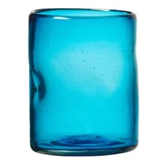 Global Amici Ensenada 12 oz. Old Fashioned Glass in Aqua (Set of 4)